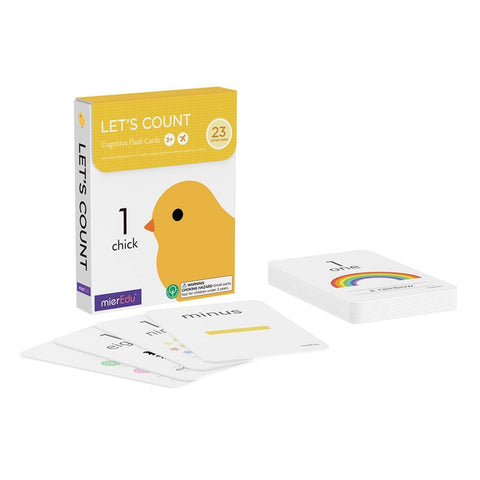 Cognitive Flash Cards - Let's Count