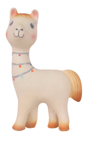 Lilith the Llama Rubber Teether & Rattle