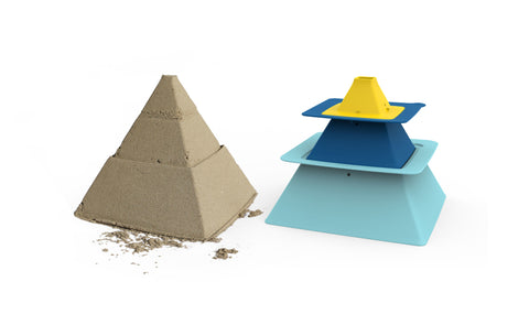 Pira Stackable Pyramid Sandcastle Maker