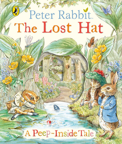 Peter Rabbit Lost Hat Peep-Inside Tale
