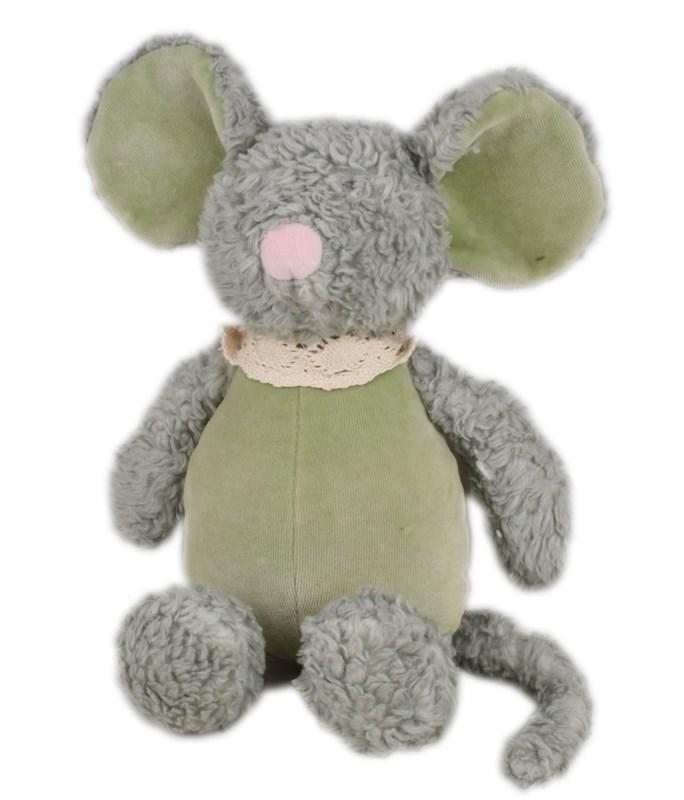 Baby Mouse with Muslin Body Soft Toy