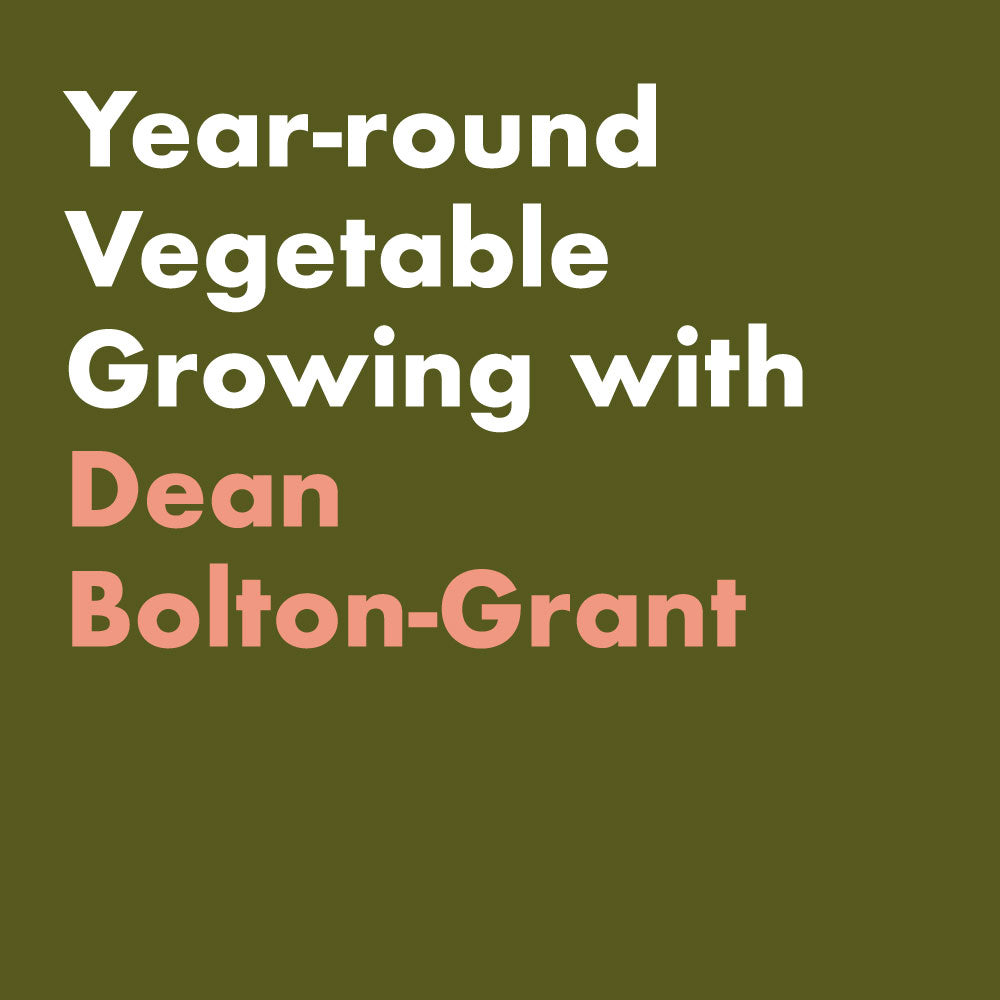 Year-round vegetable growing with Dean Bolton-Grant