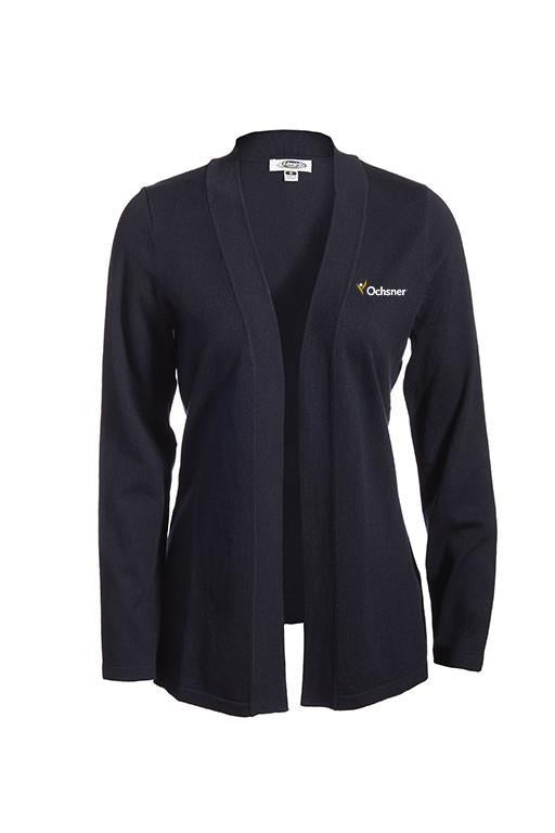 Open Ladies Front Cardigan w/Ochsner Logo