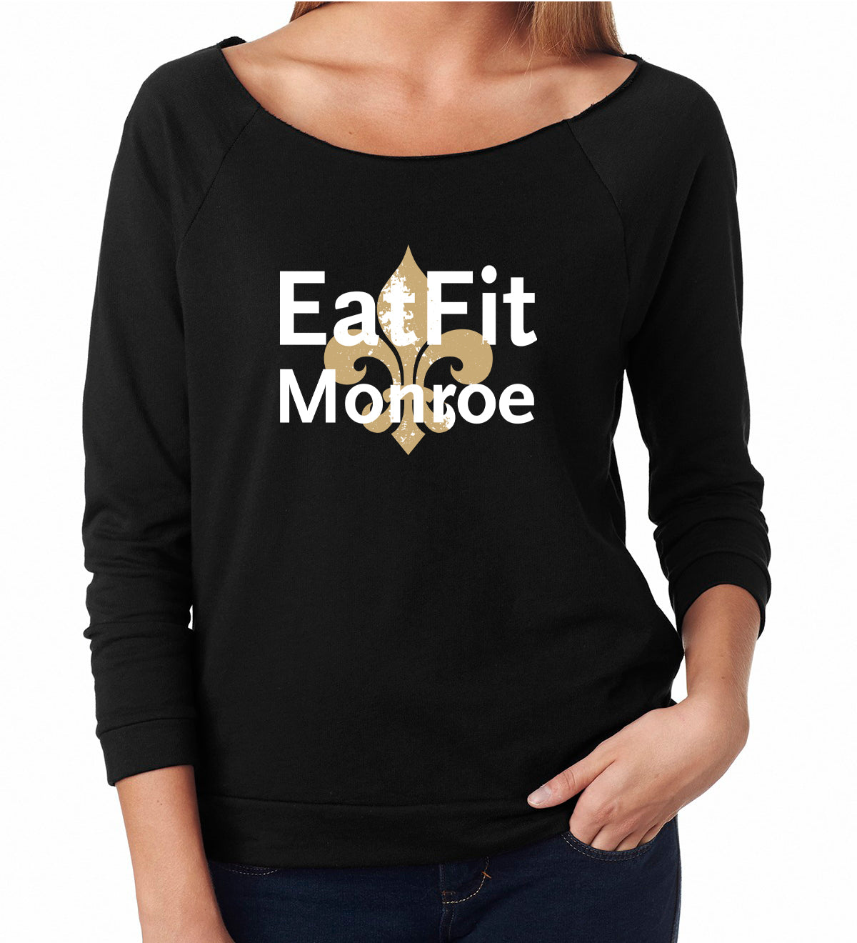 Eat Fit Monroe Women's French Terry 3/4 Sleeve