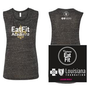 Eat Fit Acadiana Muscle Shirt