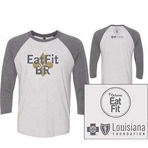Eat Fit BR Unisex 3/4 Sleeve