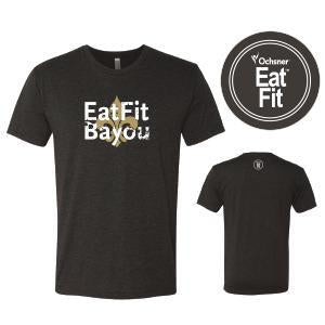 Eat Fit Bayou T Shirt - Crew