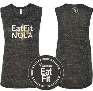 Eat Fit NOLA Muscle Shirt