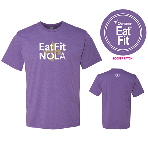 Eat Fit NOLA T Shirt - Premium Crew