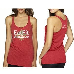 Eat Fit Acadiana Racerback Tank