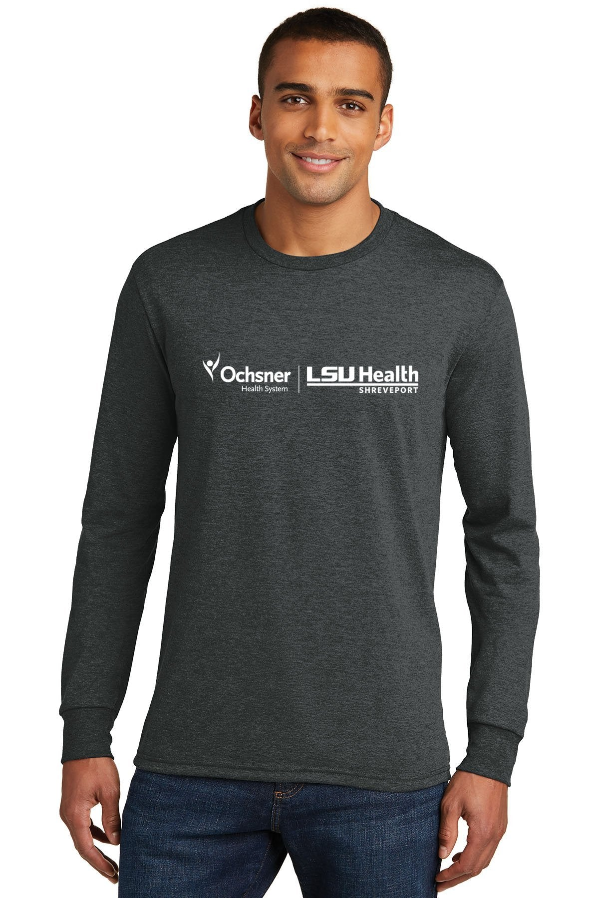 District Made Unisex Long Sleeve T-Shirt Ochsner/LSU