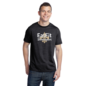 Eat Fit Shreveport T Shirt - Premium Crew