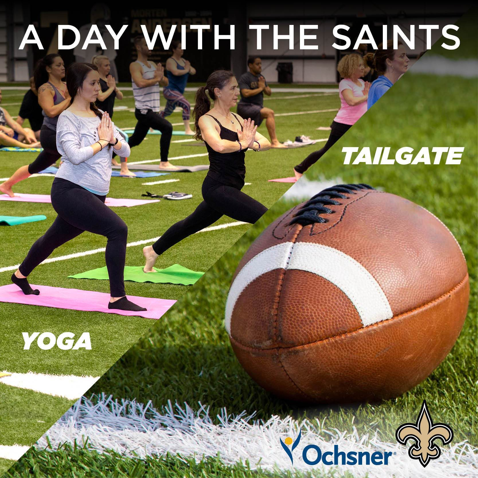 A Day with the Saints