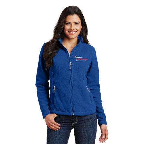 Urgent Care Supervisor and Up Value Fleece Ladies Jacket