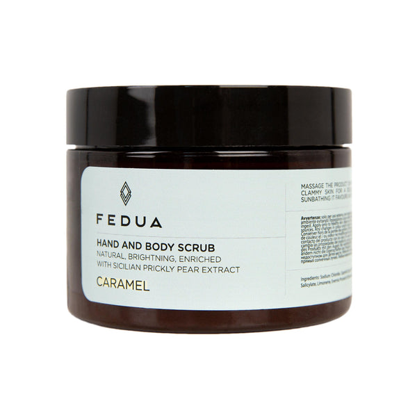 FEDUA Hand and Body Scrub Caramel - Cкраб для рук и тела с ароматом карамели