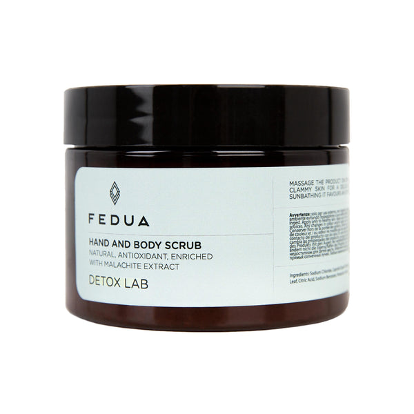 FEDUA Hand and Body Scrub Detox Lab - Cкраб для рук и тела детокс
