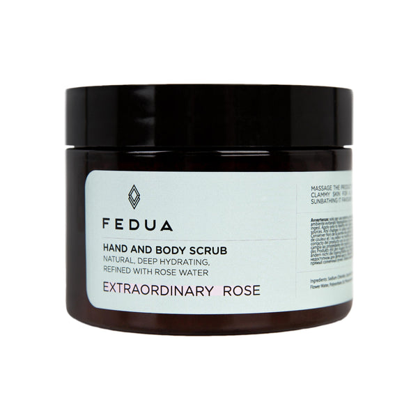 FEDUA Hand and Body Scrub Extraordinary Rose - Cкраб для рук и тела  c ароматом розы