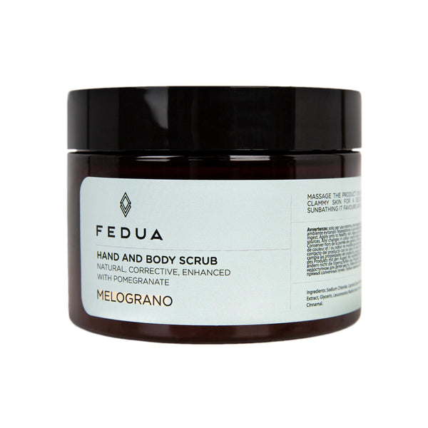 FEDUA Hand and Body Scrub Melograno - Cкраб для рук и тела с ароматом граната