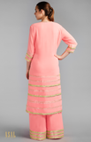 Load image into Gallery viewer, Light Pink Straight Kurta Set