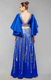 Load image into Gallery viewer, Royal Blue Lehenga Set