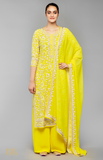 Load image into Gallery viewer, Yellow Kurta Set