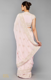 Load image into Gallery viewer, Pink Saree Set