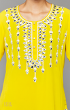 Load image into Gallery viewer, Yellow Kurti- Gharara Set