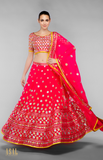 Load image into Gallery viewer, Pink Lehenga Set