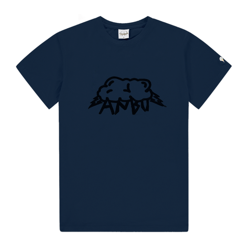 ANBU DENIM TEE - NAVY
