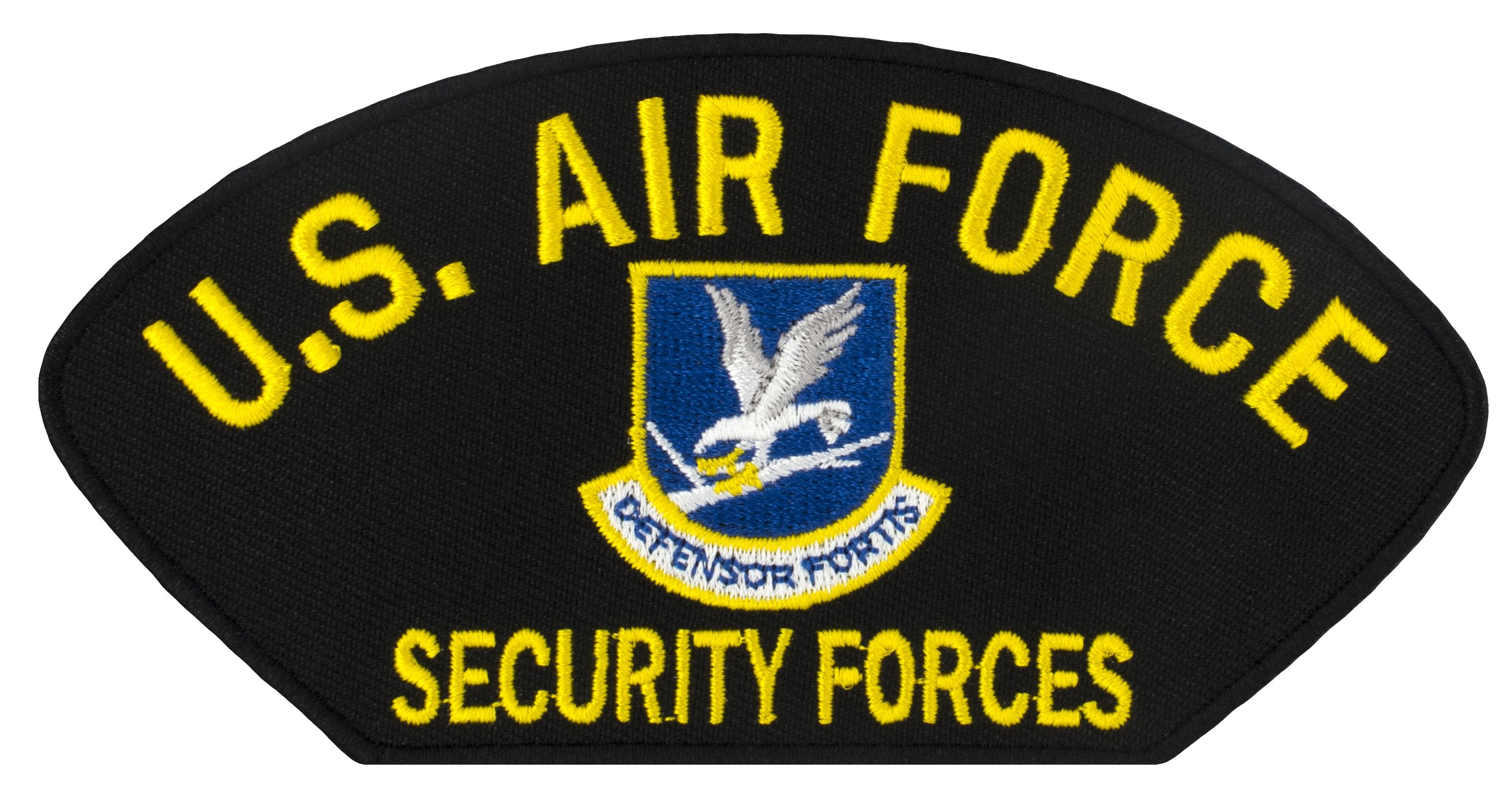 "US Air Force Security Forces Embroidered Patch 5 3/16"" x 2 5/8"""