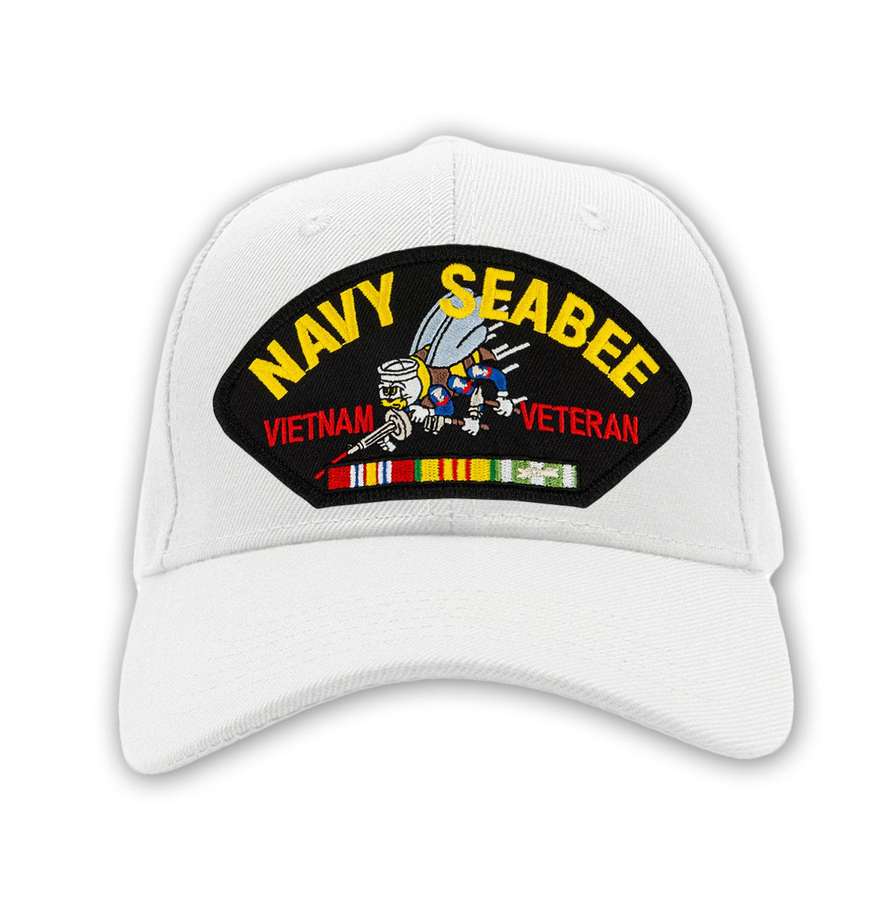 US Navy Seabee - Vietnam War Veteran Hat - Multiple Colors Available