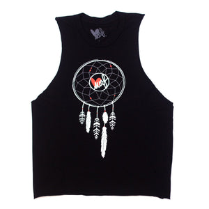 Luv Surf Dreamcatcher Tank | Black