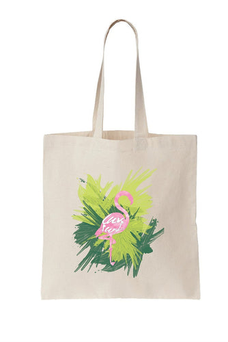 Luv Surf Flamingo Tote Bag