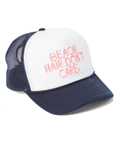 Luv Surf Beach Hair Trucker Hat | Navy