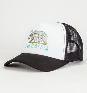 Luv Surf Calibear Trucker Hat | Black