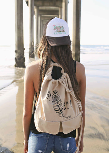 Luv Surf Be Free Backpack