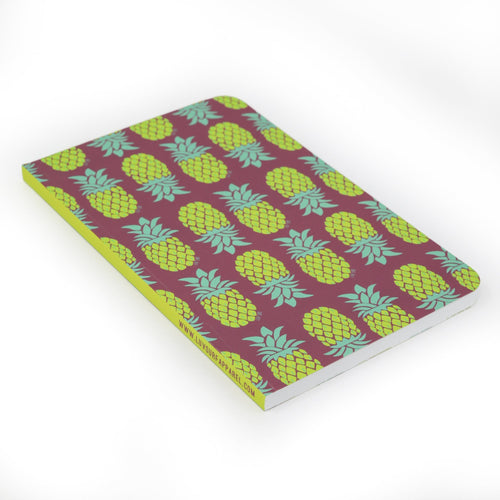 Luv Surf Pineapple Notebook