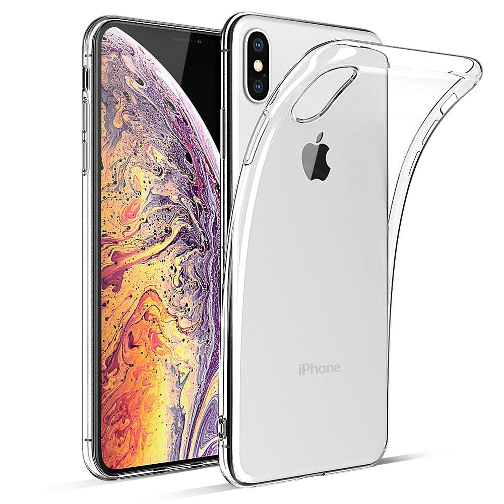 Funda De Silicon Suave Transparente Para iPhone X / Xs