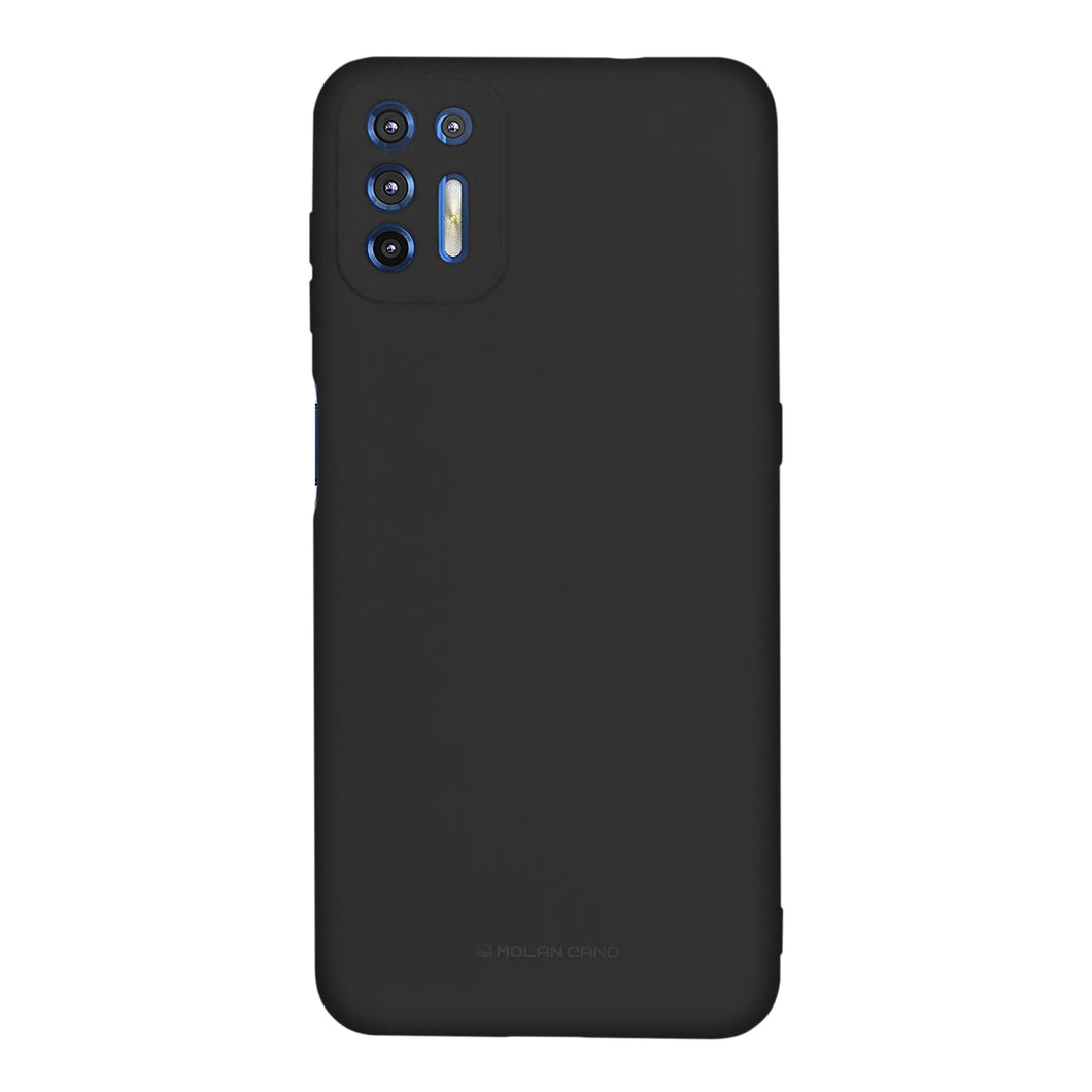 Funda Protector Silicon Tacto Suave Molan Cano Jelly Case Para Motorola G9 Plus