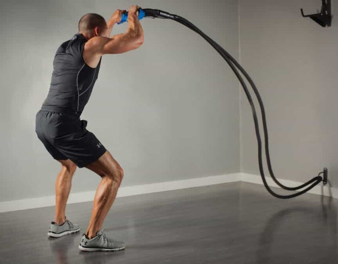 The AbCompany Battle Rope Strength Training System ABS3005