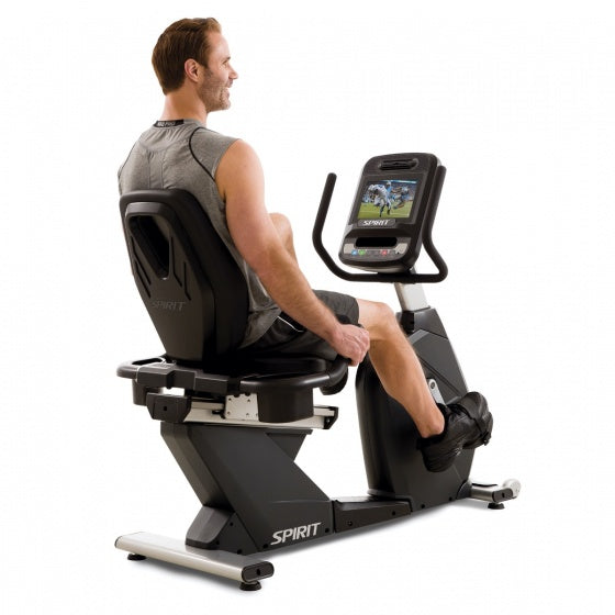Spirit Fitness Commercial Semi-Recumbent Bike (CR900ENT)
