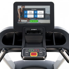 "Load image into Gallery viewer, Spirit Fitness Commercial Treadmill With Screen Mirroring 15.6"" CT800ENT"