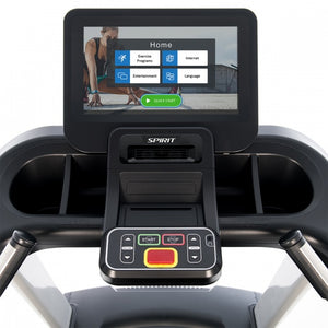 "Spirit Fitness Commercial Treadmill With Screen Mirroring 15.6"" CT800ENT"