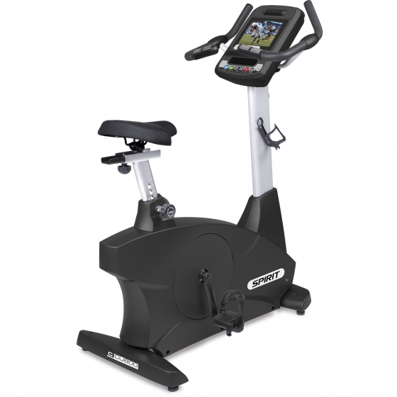 Spirit Fitness Upright Semi-Bike With Screen Mirroring 15.6