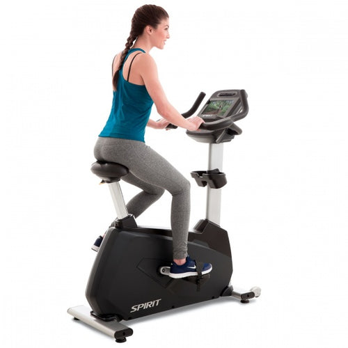 Spirit Fitness Club-use Upright Bike (CU900ENT)