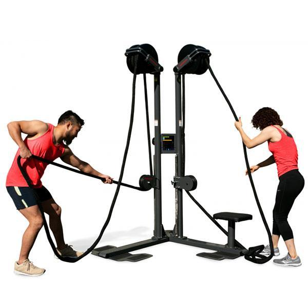 RopeFlex Indoor Rope Vertical Pulling Exercise RX2500 Dual-Station