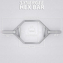 Load image into Gallery viewer, Synergee Heavy-Duty Hex Trap Bar