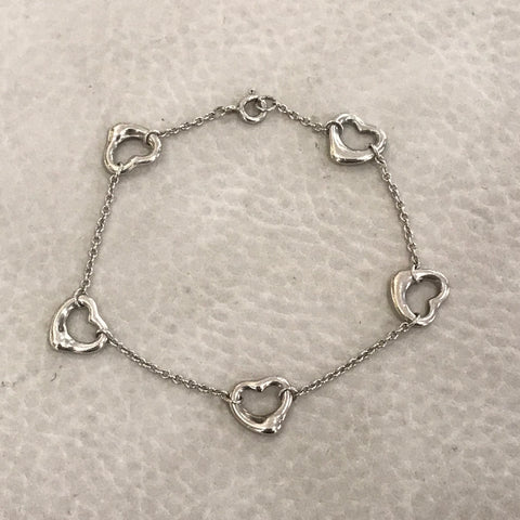 TIFFANY ARMBAND OPEN HEART COLLECTION VON ELSA PERETTI