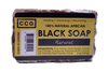 Auhtentic raw, unrefined african black soap made with all natural ingredients.