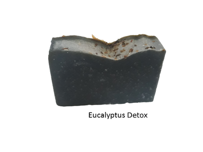 Eucalyptus soap benefits - natural antiseptic, helps heal wounds faster.